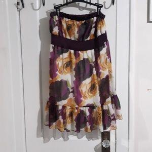 Strapless sun dress